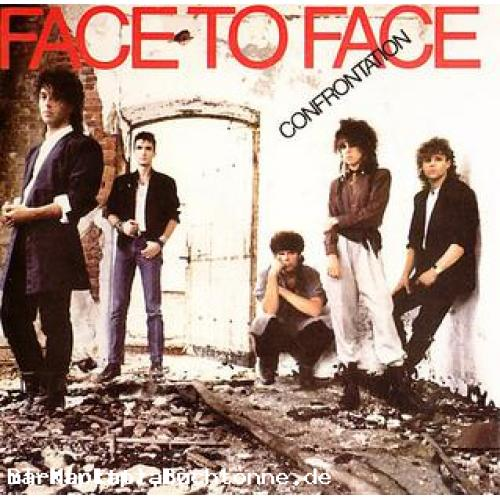 Face To Face - Confrontation LP