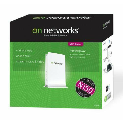 Netgear On Networks N150 WLAN Router ADSL2 Modem (WiFi, RJ-45, Annex-B) LAN